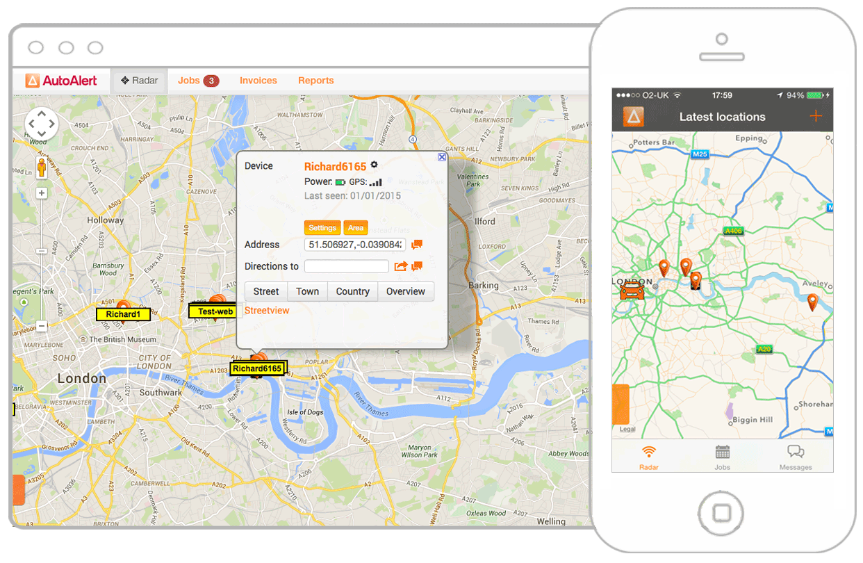Track Your Vehicles with AutoAlert GPS Tracking