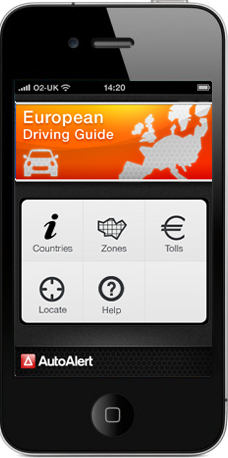 European driving guide