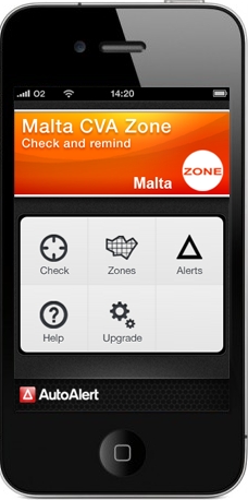 iPhone Congestion Zone application