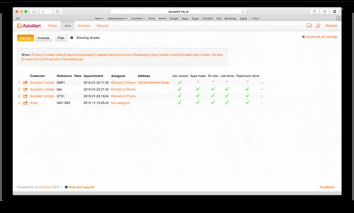 Job Management Software Job Filters