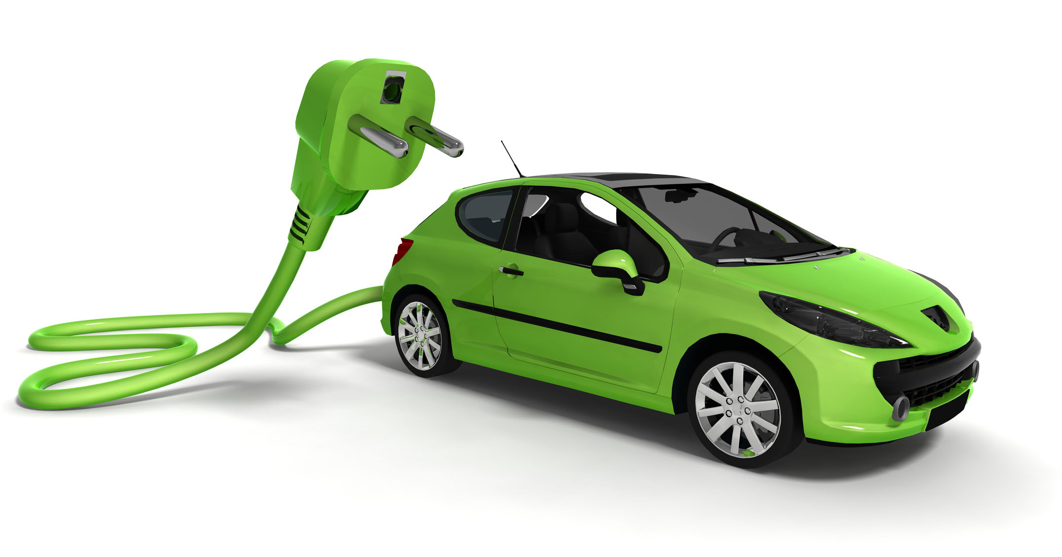 Electric car image