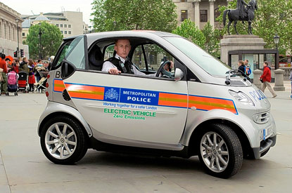 Electric police cars