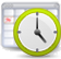Job scheduling icon