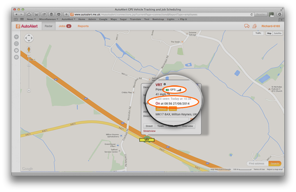 GPS Tracking Details
