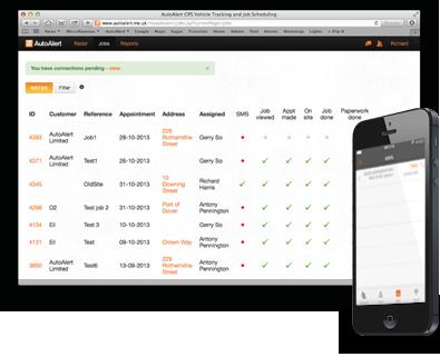 Property maintenance job tracking software