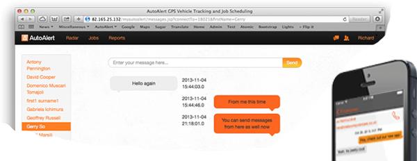 AutoAlert instant messaging