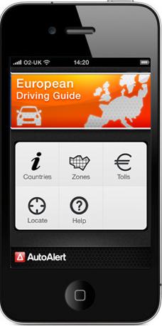 European driving guide