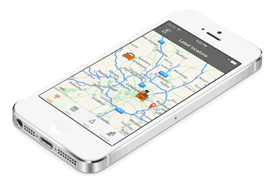 gps tracker iphone gps tracking from your mobile or gps device 10741