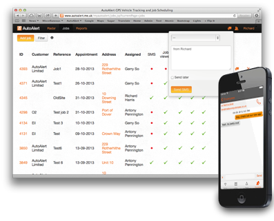 AutoAlert instant messaging from your desktop to your mobile telephone or iPhone