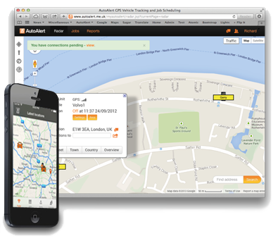 GPS Tracking Device Location through AutoAlert